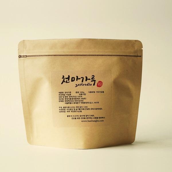 (한방백서) 천마가루300g