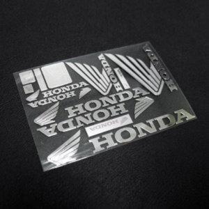 혼다 1 금속튜닝 바이크 스티커 honda-1