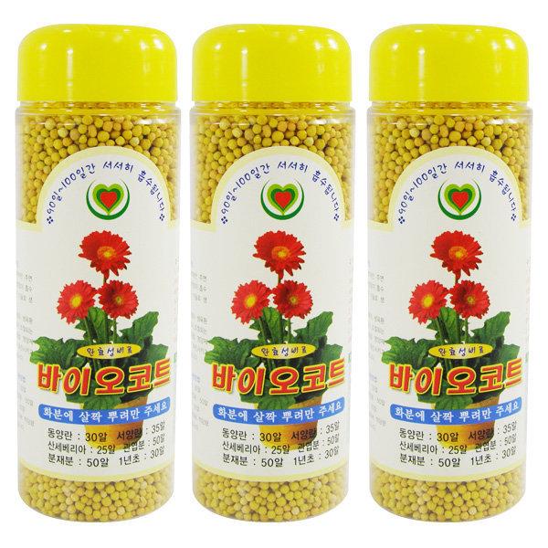 바이오코트 다육 식물 영양제 화초 난 화분 복합비료
