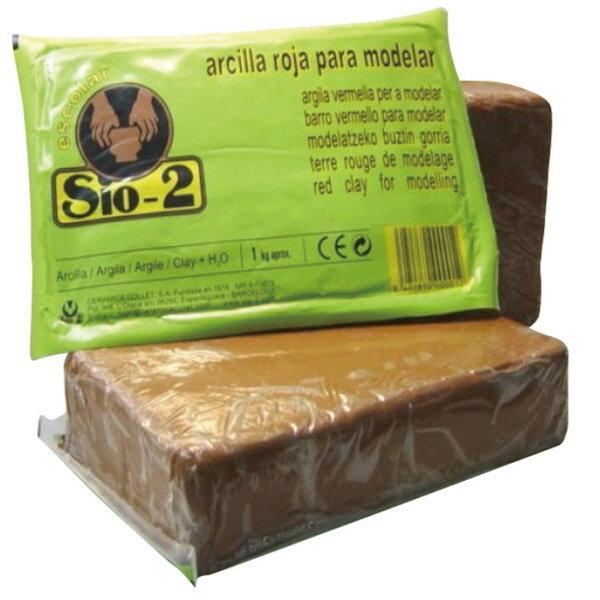 SIO-2 찰흙(갈색 1.5kg)