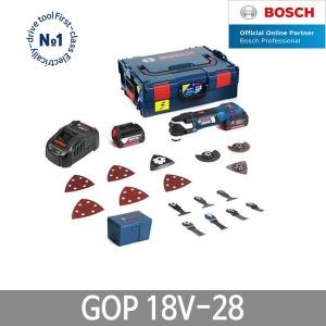 보쉬 GOP18V-28 충전멀티커터 만능컷터 5.0Ah 배터리2