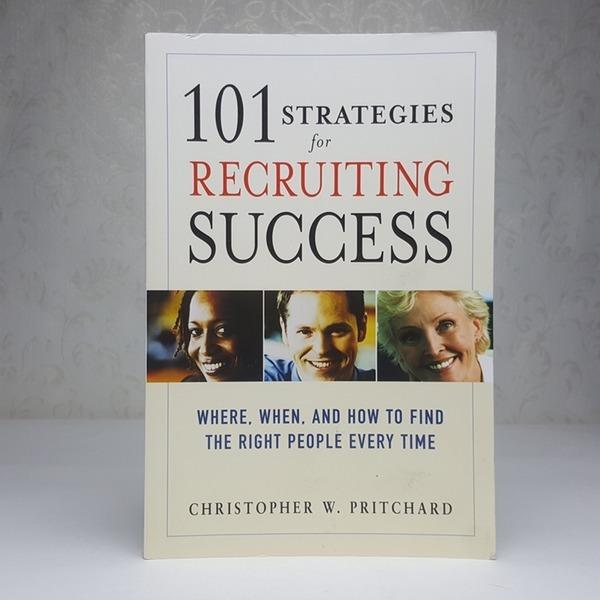 영문서적 101 strategies for recruiting success