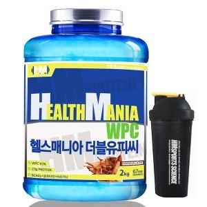 단백질 헬스보충제 헬스매니아 WPC 초코맛 2kg