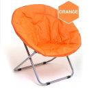 메타써클 오렌지 접이식원형의자 인테리어의자 안락