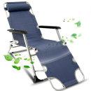 META9 네이비 병원의자 폴딩체어 안락의자 접이식침대