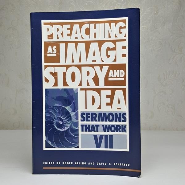 영문서적 Preaching as image story and idea