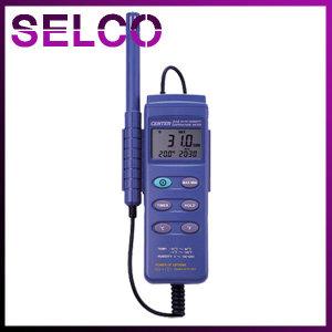 디지털 온습도계 CENTER311 2채널 온습도계 휴대용