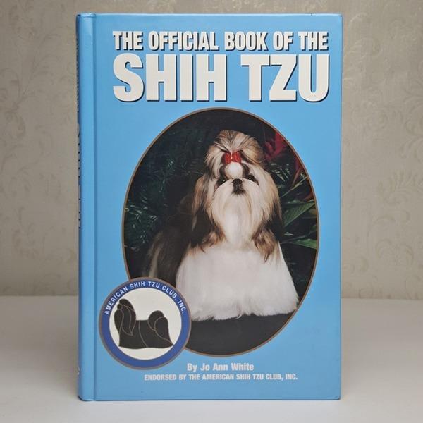 영문서적 THE OFFICIAL BOOK OF THE SHIH TZU 시츄
