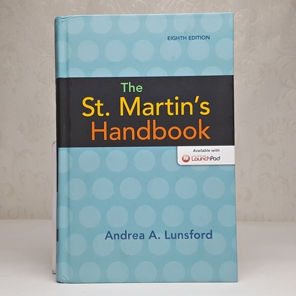 외국도서 The St Martins Handbook (Hardcover 8)