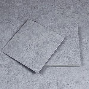 접착식데코타일 무광 콘크리트 딥그레이 (두께3mm)