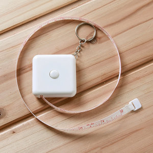 디씨팡 /2m 휴대용 사각 줄자 휴대용줄자 휴대용 줄자