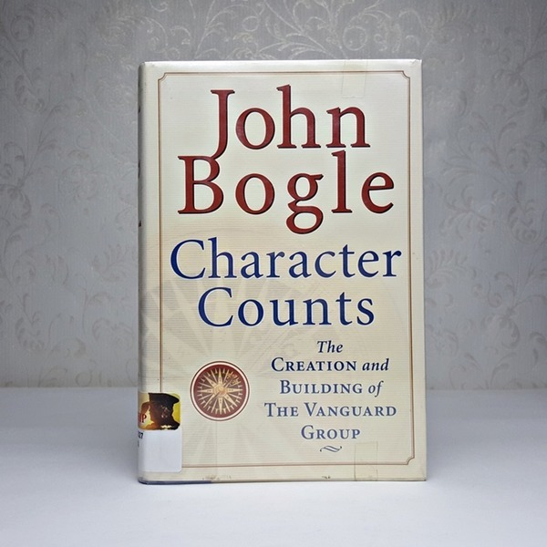 영문서적 Character Counts / John Bogle
