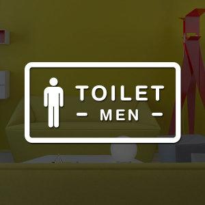 루리앤메리도어사인 스티커 모음 023 화장실 남자 02