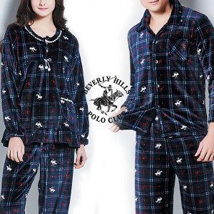 특가 비버리힐즈폴로 남자여자 인조밍크 수면잠옷세트