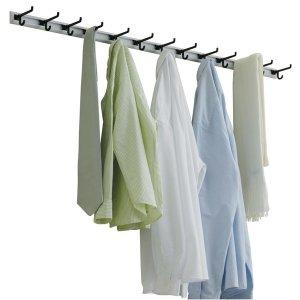 웰렉스 벽부형 옷걸이 SH607 (가로 60cm 옷걸이 7개)