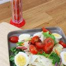 토마토 슬라이서 방울 토마토 깔끔하게 자르는 법