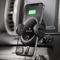 오그랩 차량용 핸드폰 무선충전 자동 거치대