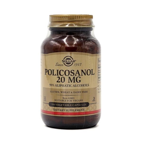 Solgar 솔가 폴리코사놀 20 mg 100 베지 캡슐