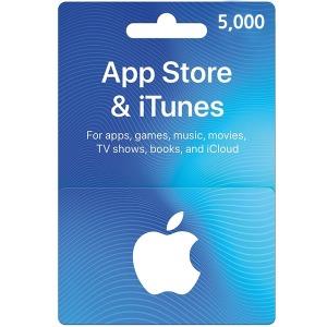 일본 아이튠즈 기프트카드 5000엔 ALLTIME즉시발송