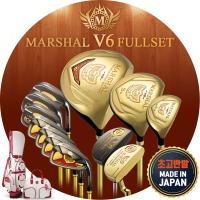 마샬 MARSHAL 일본 V6 골드 고반발 여성 풀세트