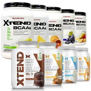 (빠른직구)XTEND 엑스텐드 BCAA 외 프로 웨이 프로틴