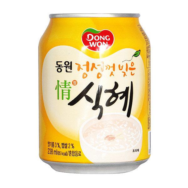 동원식혜 238ml x 24캔 / 식혜캔 수정과 음료수