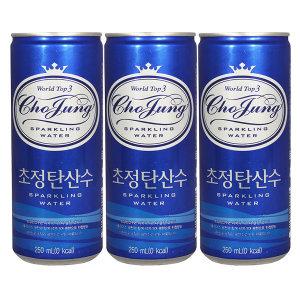 초정탄산수 플레인 250ml x 30캔 / 탄산음료 음료수