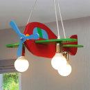 어린이조명 /칼라비행기3등팬던트/램프별도