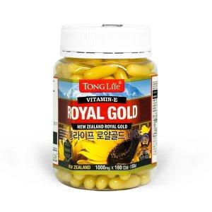 통라이프 로얄골드 비타민E 180캡슐 (6개월분)