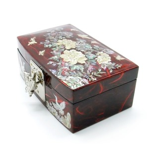 자개 보석함 기본형 전통공예 쥬얼리 귀빈 외국인선물