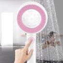 샤워기헤드 수압상승 원터치온오프 360도회전투톤color