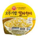 오뚜기밥 발아현미 210g X 18개 즉석밥