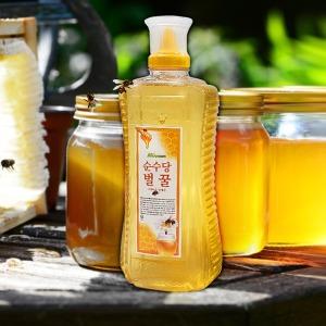 순수당 벌꿀 2kg/꿀/아카시아/사양꿀