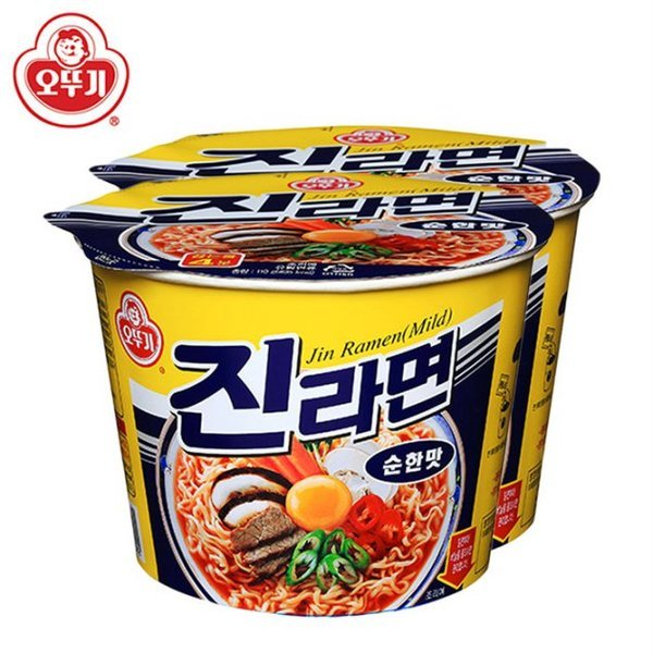 오뚜기 진라면 순한맛 용기110gx12개(1박스)/무료배송