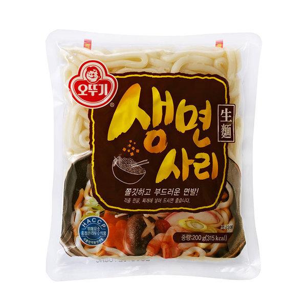 오뚜기 생면사리 /우동사리 200gx15개/무료배송