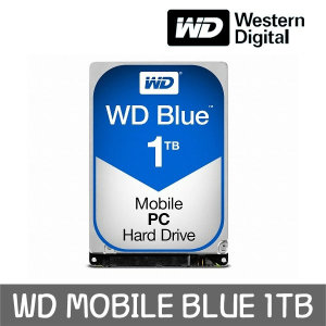 WD MOBILE BLUE 1TB 7mm WD10SPZX +正品 공식판매점+