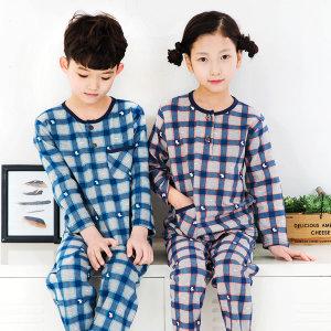 국산 아동 순면잠옷 국산 까초로 아동 면잠옷