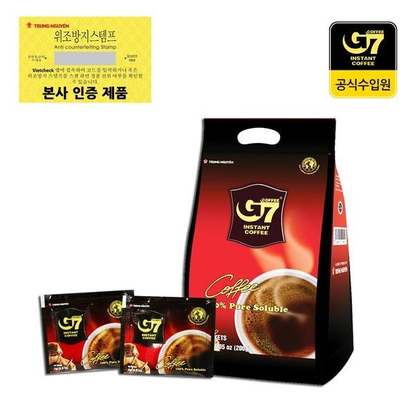 베트남 G7커피 블랙커피 100스틱 대용량상품