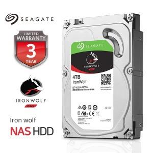 4TB Ironwolf ST4000VN008 NAS HDD