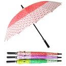 삼색도트 당일출발 여성용 패션우산  장우산