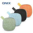 패브릭 블루투스스피커 QS-2000 라디오+MP3+AUX 오렌지