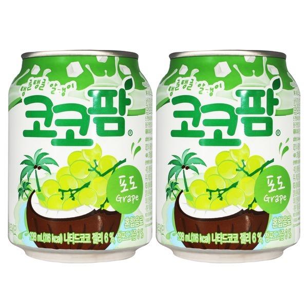 코코팜 포도 238ml x 12캔 / 쥬스 음료수