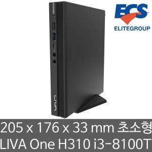 ECS LIVA One H310 i3-8100T (4GB 램/240GB SSD)