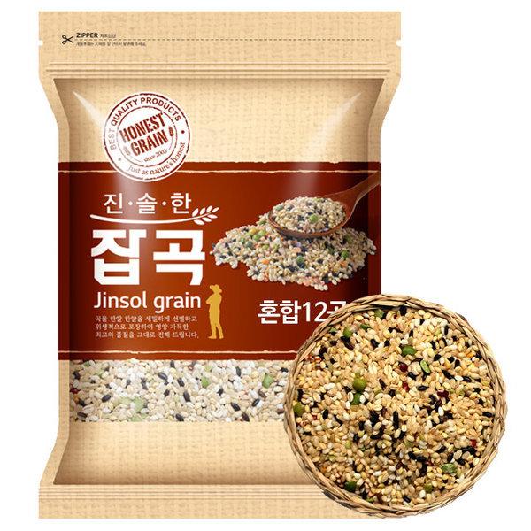 국산 일품혼합12곡 혼합잡곡 4kg (2019년산)