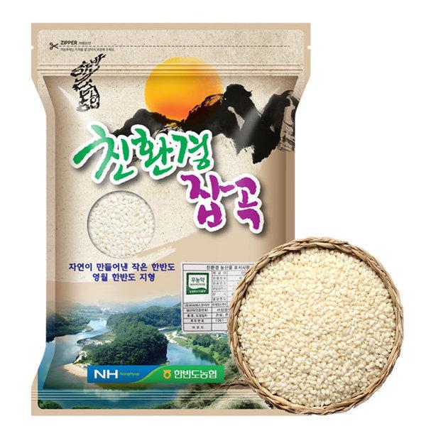무농약 찹쌀 1kg (2019년산)