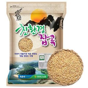 무농약 찰보리 1kg (2019년산)
