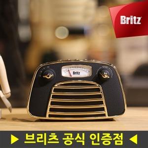 프리미엄 레트로 블루투스 스피커 BA-MK1 라디오 블랙