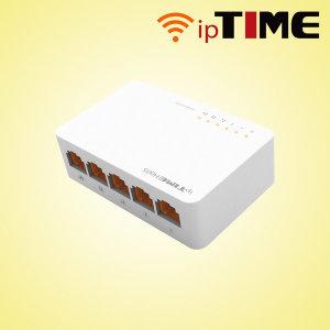 ㄴEFM iptime H605 스위칭허브 초소형 오버워치 우체국
