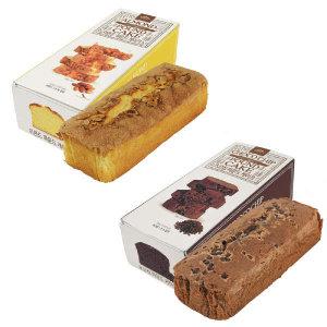 (현대Hmall) 신라명과 아몬드파운드케익+초코칩파운드케익 세트