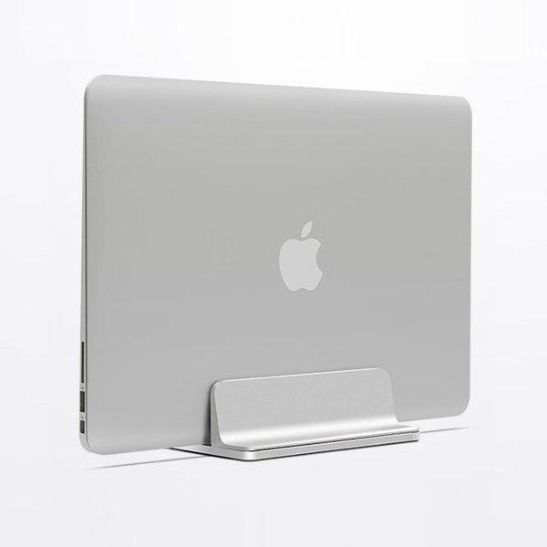 프리미엄 알루미늄 노트북 맥북 세로 거치식 스탠드